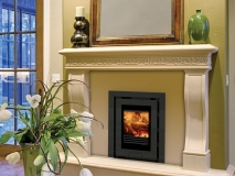 Di Lusso r4 wood stove 3 sided frame