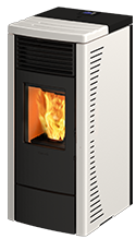 Rc 70 ducted wood pellet stove