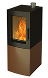 Alfa S Natural Convection Pellet Stove