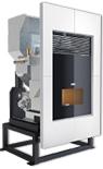 Hrb160 boiler insert wood pellet stove