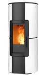 infinty ducted wood pellet stove with self cleaning burner