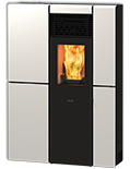 Olivia Steel Ducted Air Wood Pellet stove