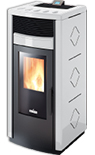 Rc 120 Ducted Air Wood Pellet stove