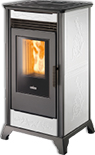 Rv80 Forced Convection Pellet Stove stove