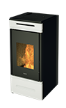 hrv140 touch_ wood pellet boiler stove with self cleaning burner