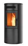 Dual 7 forced convection pellet stove with the addition of natural convection
