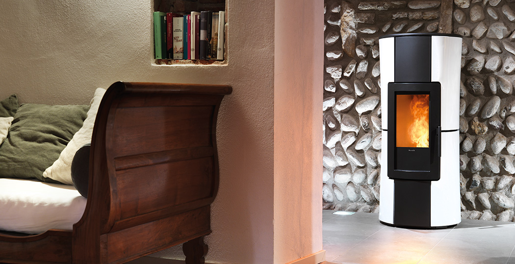 Infinity ducted wood pellet stove