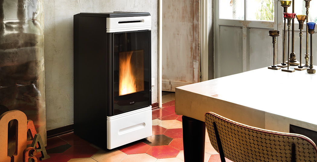 Wood Pellet Boiler Stove for Central Heating