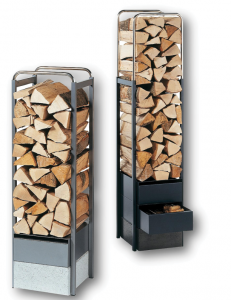 Tonwerk wood steel wood storage racks