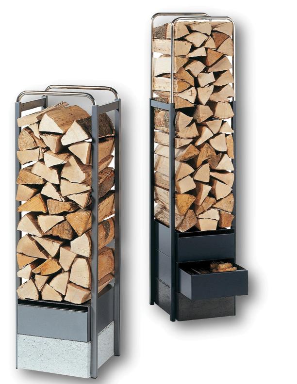 Bon Tonwerk Wood Steel Wood Storage Racks