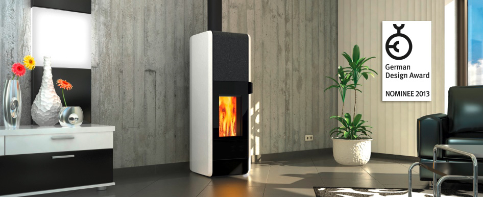 T-Neo wood burning storage stove suitable for Passive houses