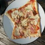 pizza stone baked