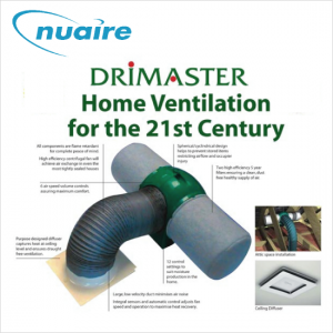 Drimaster positive ventilation