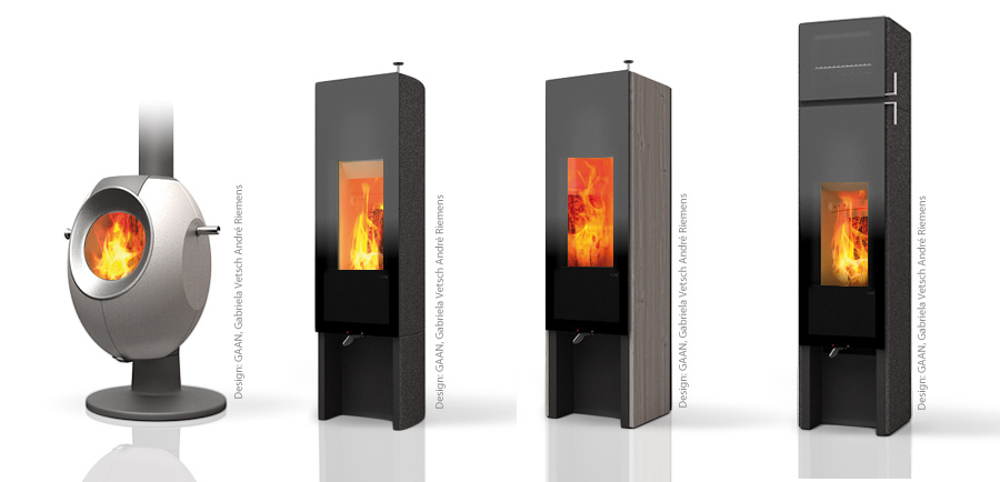 Tonwerk classic series of wood burning storage heating stoves