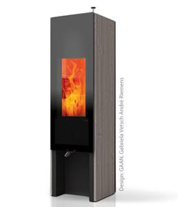Wood burning storage stoves made in Switzerland