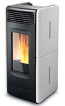 Vittoria Forced Convection Wood Pellet Stove stove