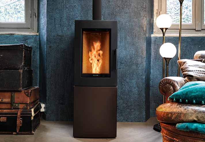 Efficiency and silence - The perfect stove