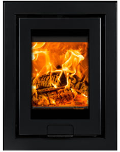 The Di Lusso R4 stove is fits all standard fireplaces