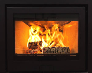 The Di Lusso R6 wood burning stove is the ideal addition to any room- large or small