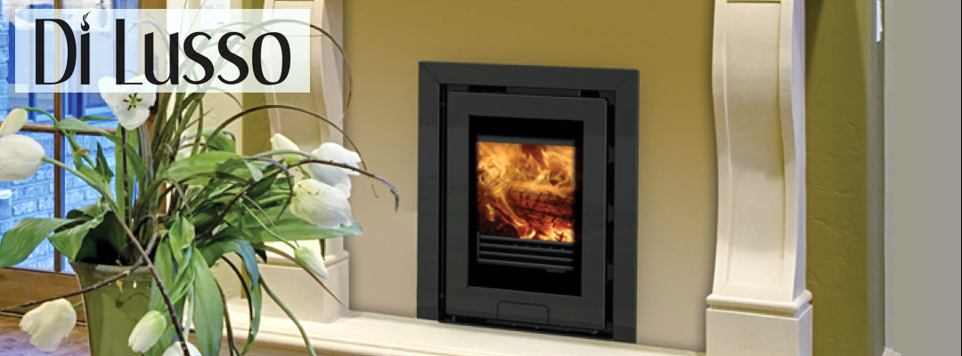 Di Lusso wood burning stove