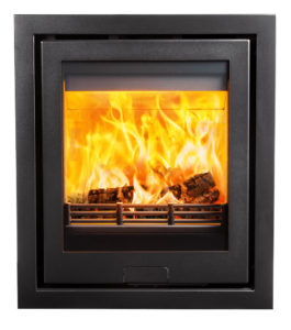 Di Lusso R5 insert wood burning stove