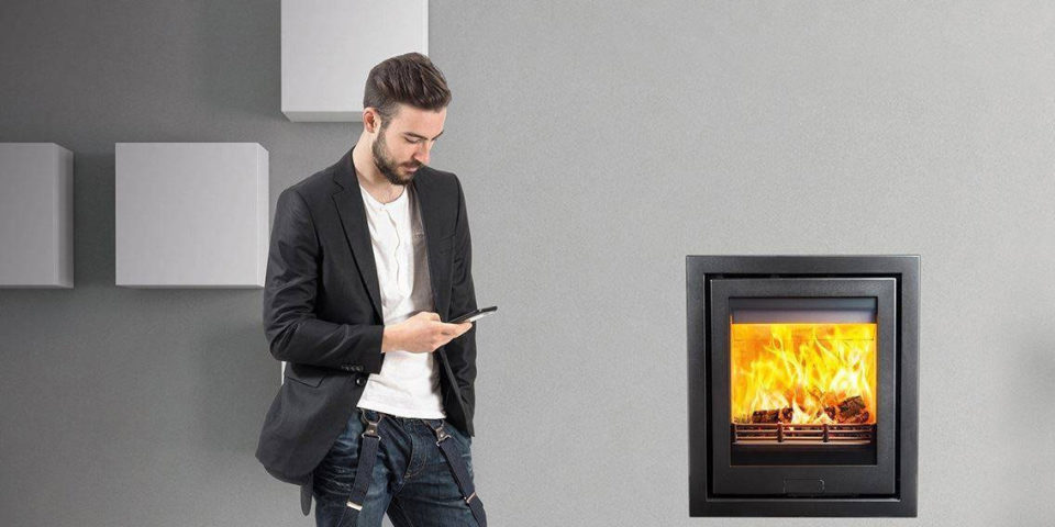 The Di Lusso R5 wood burning stove is the ideal addition to any room- large or small