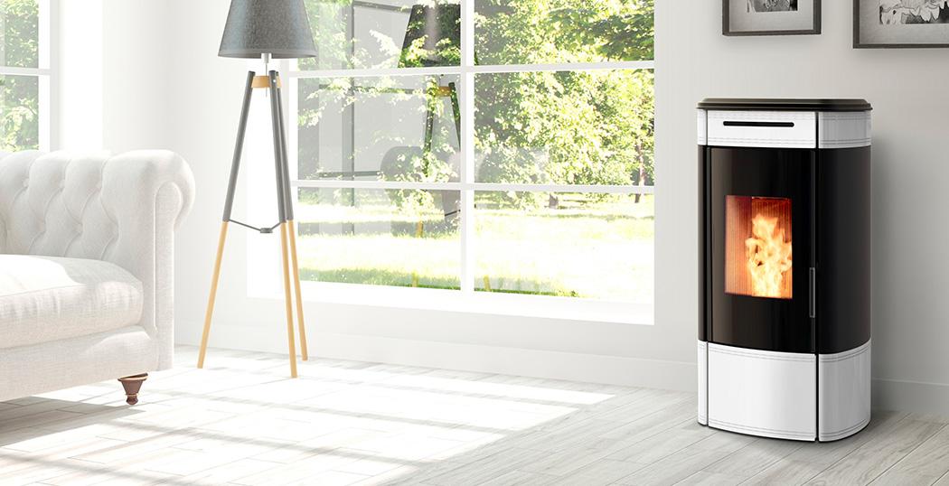 HRV120 Globe Wood Pellet Boiler Stove for Central Heating
