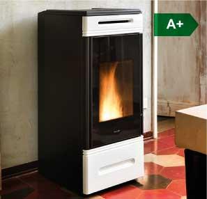 HRV140 Touch boiler wood pellet stove
