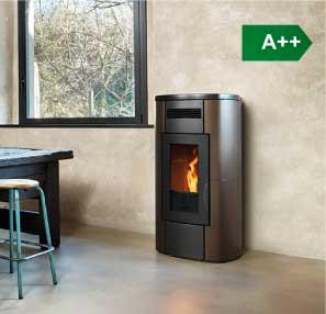 HRV200 Touch boiler wood pellet stove