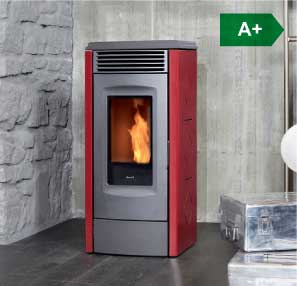 RV 120 touch ventilated wood pellet stove