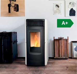 Vittoria ventilated wood pellet stove