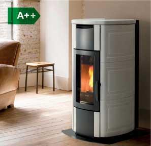 HRV160 Touch boiler wood pellet stove
