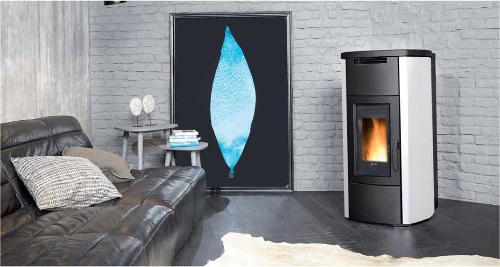 Hrv160 Wood Pellet Boiler Stove for Central Heating