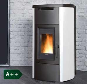 HRV160 Steel boiler wood pellet stove