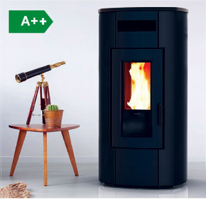 Wood Pellet boiler stoves for central heating