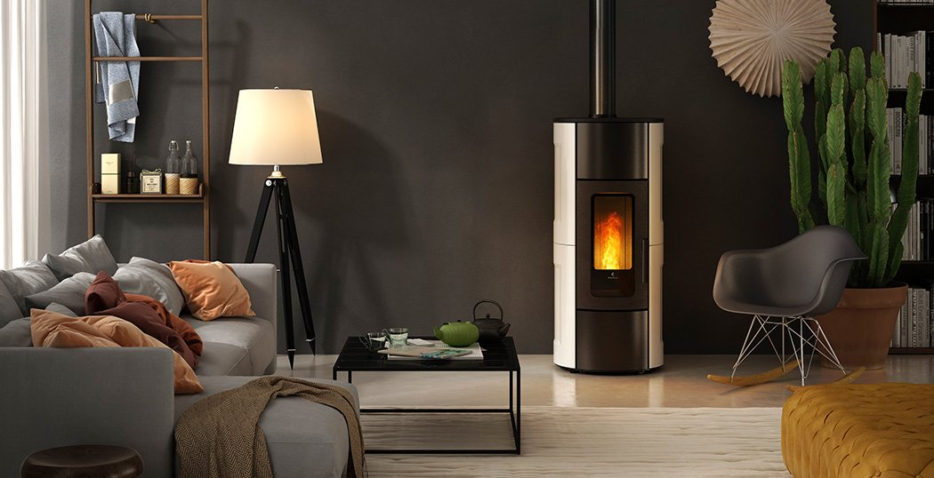 FLEXI 11 ventilated, ducted and convection wood pellet stove