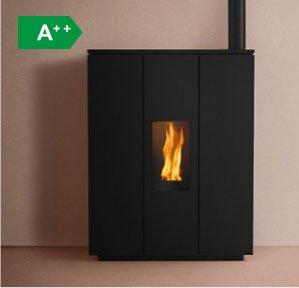 Hrv140 Silhouette boiler wood pellet stove