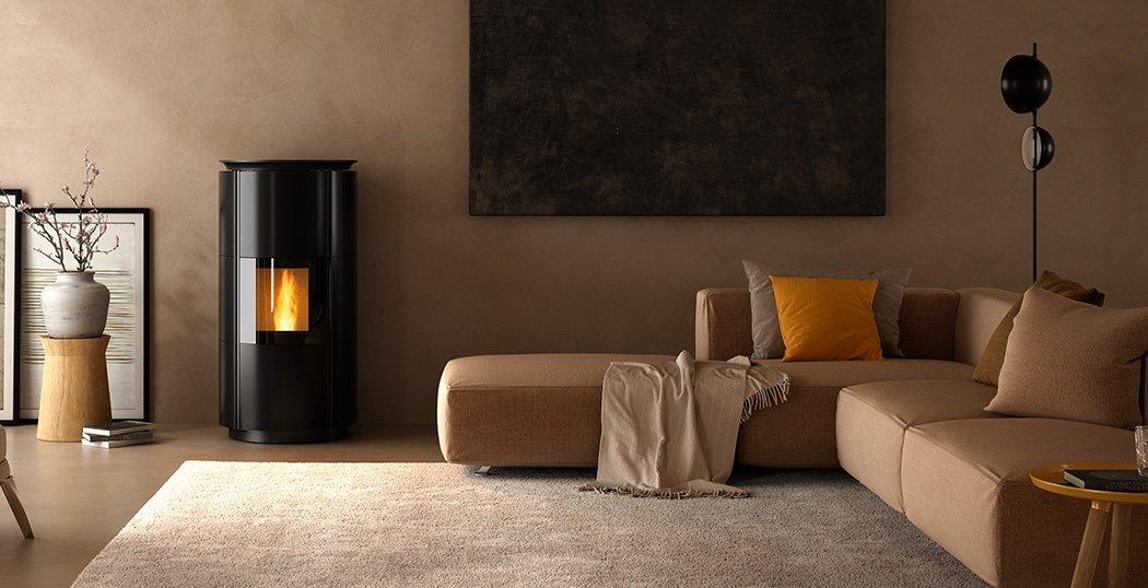 Hrv160 Design Wood Pellet Boiler Stove for Central Heating