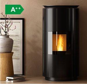 HRV160 Design boiler wood pellet stove