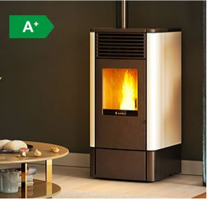 S70 ventilated wood pellet stove