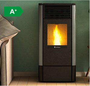 S900 ventilated wood pellet stove