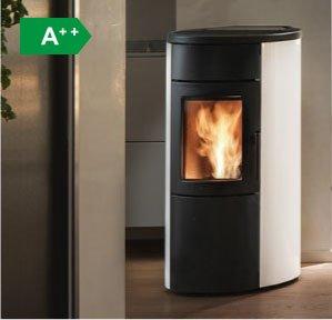 Whisper 7 silent natural convection pellet stove