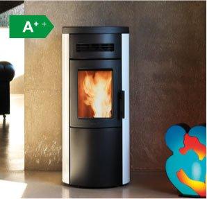 Dual 7 ventilated wood pellet stove